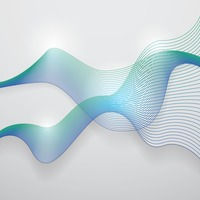 Popular : Abstract wave background