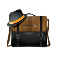 Bag with hat