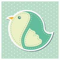 Bird sticker