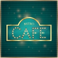 Bistro cafe label