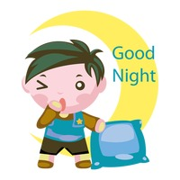 character characters cartoon cute adorable boy boys human people rh stockunlimited com good night clip art animals good night clip art images