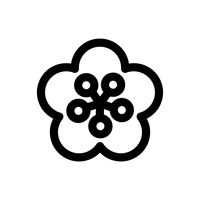 Popular : Chinese blossom flower icon