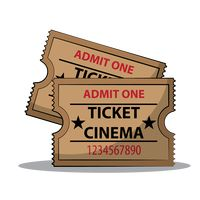 Cinema ticket Vector Image - 1799477 | StockUnlimited