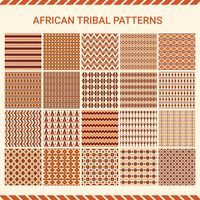 Collection of african tribal patterns