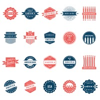 Popular : Collection of american labels