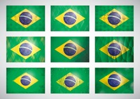 Popular : Collection of brazil flag icons
