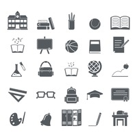 Popular : Collection of education icons