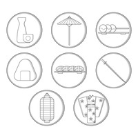 Popular : Collection of japanese icons