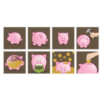Popular : Collection of piggy banks
