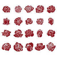 Popular : Collection of rose icons