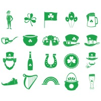 Collection of saint patrick s day icons