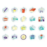 Popular : Collection of stationery supplies
