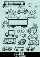 Collection of vehicles