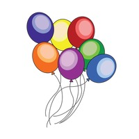Popular : Colorful balloons