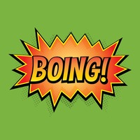 Popular : Comic effect boing