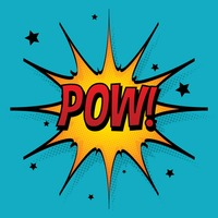 Popular : Comic effect pow