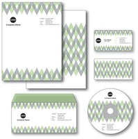 Company paper  envelope  business card and cd