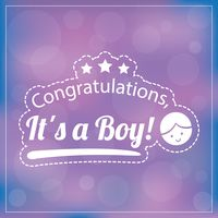 Popular : Congratulations  it s a boy