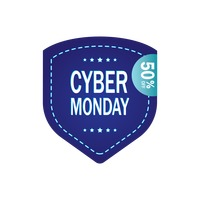 Popular : Cyber monday sale label