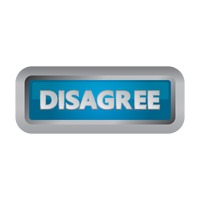 Disagree button