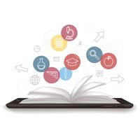 Popular : E-learning concept