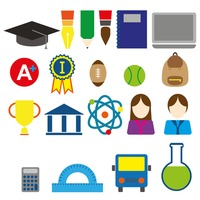 Popular : Education concept