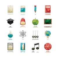 Education icon collection