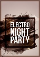 Electronic dance music night