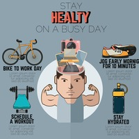Popular : Fitness infographic