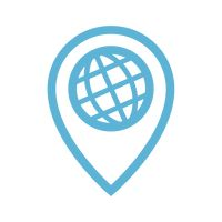 Icon Icons Isolated Transparent Global Worldwide