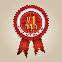 Popular : Happy father s day rosette