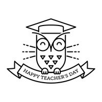 Popular : Happy teacher s day design