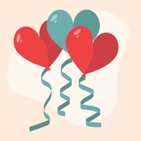 Popular : Heart shape balloons