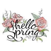 Genial Hello Spring Card Design