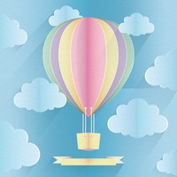 Hot Air Balloon Frame Frames Photo Frame Graphic Graphics Fly Flies