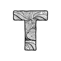 Alphabet Alphabets Flower Flowers Design Designs Pattern ...