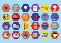 Popular : Logistic icons