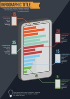 Popular : Mobile phone infographic
