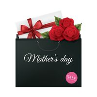 Mothers day sale shopping bag
