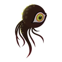 Popular : One eyed monster with tentacles