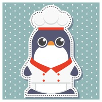 Penguin as a chef