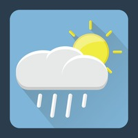 Popular : Raining cloud with sun