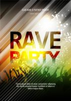 Popular : Rave party poster design