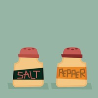 Salt and pepper seasoning