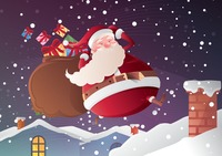 Popular : Santa claus on roof