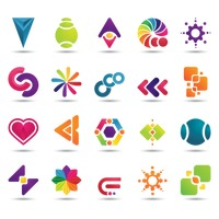 Popular : Set of abstract logo elements