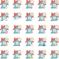 Popular : Set of house icons