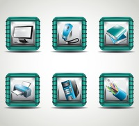 Set of office icon