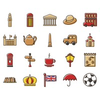 Set of uk icons