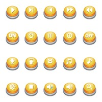 Popular : Set of web buttons